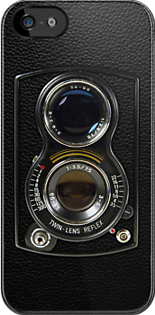 Twin Lens iPhone by rubyred