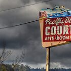 Pacific View Court Motel by Matt Erickson