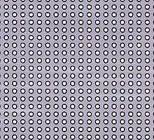 Purple and White Polka Dots by Ruth Fitta-Schulz