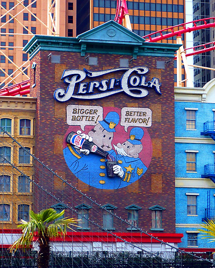 Pepsi Cola Advert in Vegas by dgscotland