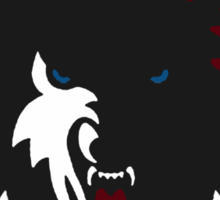 Mystic Falls Timberwolves Sticker