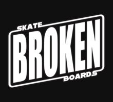 Star Wars Broken Logo Tshirt by BrokenSk8boards