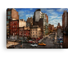 New York - City - Greenwich Village - The corner of 10th Ave & W 18th St  Canvas Print