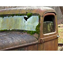 Rust In Peace Photographic Print