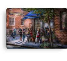 New York - Store - Greenwich Village - Jefferey's  Canvas Print
