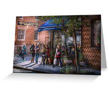 New York - Store - Greenwich Village - Jefferey's  Greeting Card