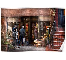 New York - Store - Greenwich Village - The gift shop  Poster