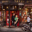 New York - Store - Greenwich Village - Three Lives Books  by Mike  Savad