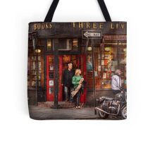 New York - Store - Greenwich Village - Three Lives Books  Tote Bag