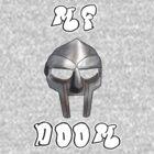 MF DOOM Shirt - All Caps by Jack Wingo