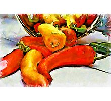 Pepper Harvest Photographic Print