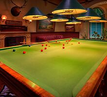The Billiard Room - Werribee Mansion by Hans Kawitzki