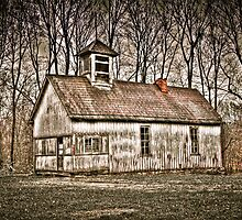 Old School House Barn in Avon by David Owens