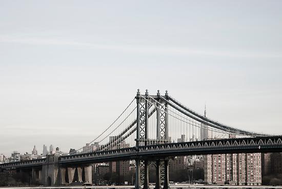 manhattan bridge by Catherine White Photography
