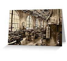 Machinist - Safety First  Greeting Card