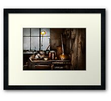 Machinist - Tool - Got Oil Framed Print