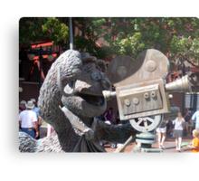 Fozzy Bear Statue Metal Print
