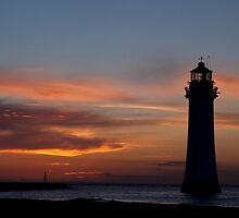 Perch Rock by Britman