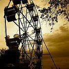 Geneva, Ohio Ferris Wheel by Kenneth Purdom