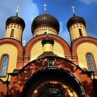 Cathedral in the Puhtica Convent by Irina777