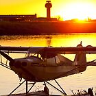Super Cub at the End of the Day by Tim Grams