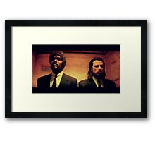 Vinny and Jules (Pulp Fiction) Framed Print