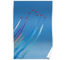 The Red Arrows 5 Poster