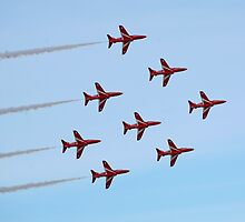 The Red Arrows 7 by Tony Steel