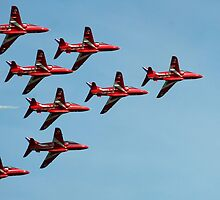 The Red Arrows 10 by Tony Steel