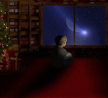 Waiting for Santa by VIGGART