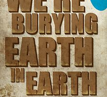 Earth In Earth Poster by Scott  Bailey