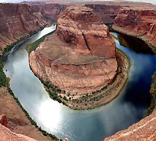 Horseshoe Bend Overlook by Ray Chiarello