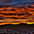 Sunset over El Paso by Ray Chiarello
