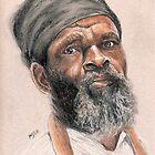 Rasta Elder by Michael Beckett