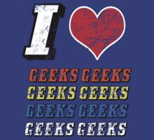 I love Geeks by Ian Jackson