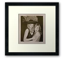 Kat and Amy - 2 Framed Print