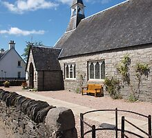 Church in Glencoe by kalaryder