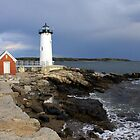 Portsmouth Harbor Lighthouse by Jeremy D'Entremont