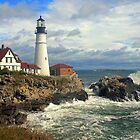 Portland Head Lighthouse, Maine by Jeremy D'Entremont