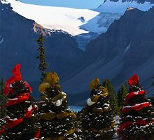 Christmas in the Canadian Rockies by Yannik Hay