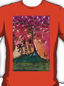 Let's Play Music T-Shirt T-Shirt