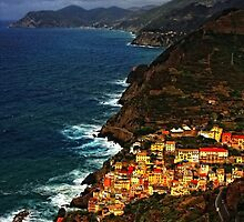 iphone cinque terre by Angela King-Jones