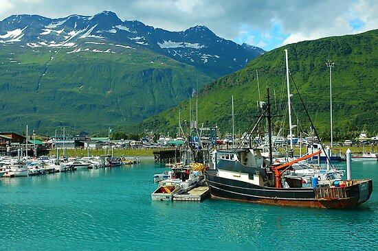 Valdez Alaska by Nick Boren