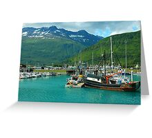 Valdez Alaska Greeting Card