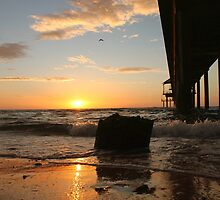 Under the Jetty at Brighton by BenClarkImagery