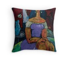 """The ADIOS Letter - from """"The Eternal WHYs"""" series Throw Pillow"""