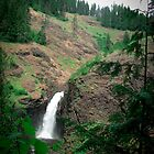 Lower Elk Creek Falls, Idaho by Chad M