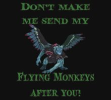 Flying Monkeys by marinasinger