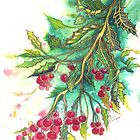 Christmas Holly by © Linda Callaghan
