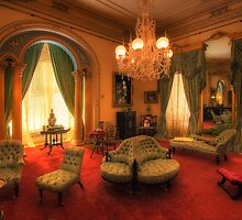 The Lounge - Werribee Mansion by Hans Kawitzki